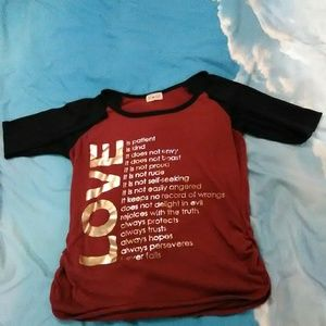 Free Kisses 1 Corinthians 13 Long Sleeve Shirt